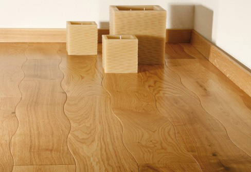 Wavy Wooden Flooring The Design Sheppard