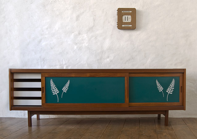Green Fern Sideboard By Lucy Turner