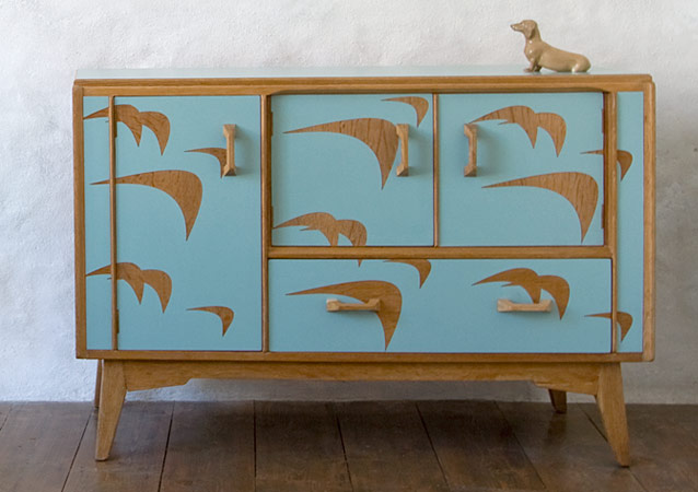 Sea Jade Sideboard By Lucy Turner