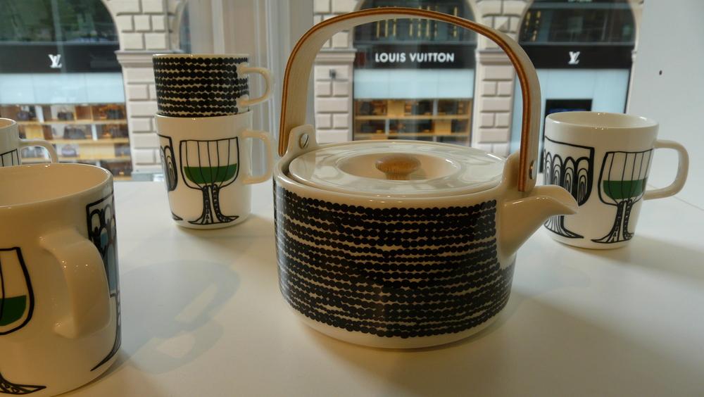 Teapot at Marimekko Helsinki store