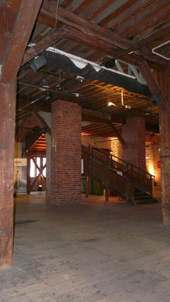 The inside of The Old Customs Warehouse