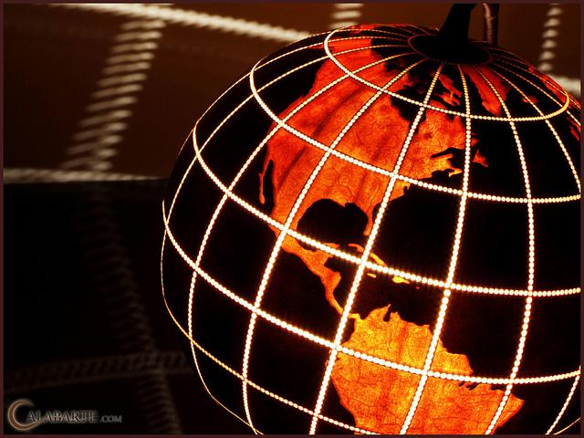 Standing Lamp XIV Globe II by Calabarte