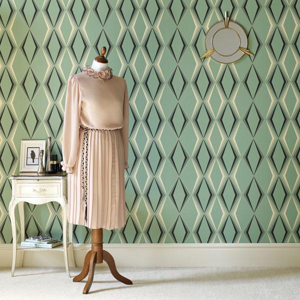 vintage wallpapers by hemingway design the design sheppard. Black Bedroom Furniture Sets. Home Design Ideas