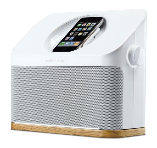 The Conran Audio iPod dock designed by Terence Conran for Studio Conran