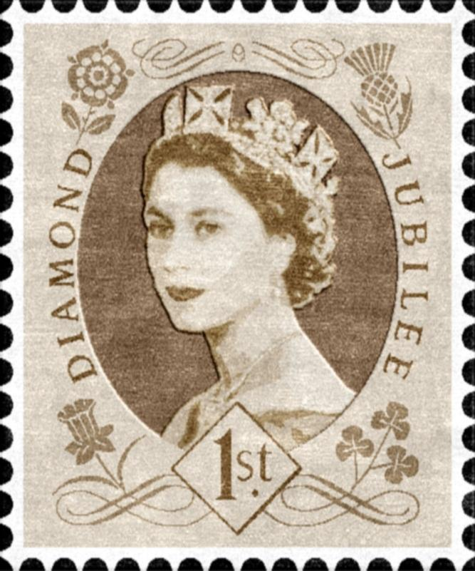 Diamond Jubilee Rug by Rugmaker