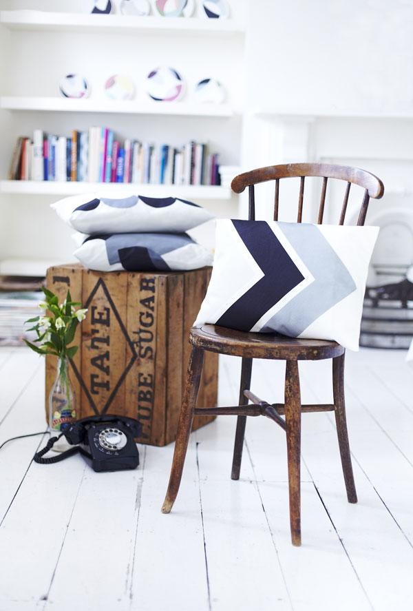Chevron from the Lindsey Lang Homeware Collection