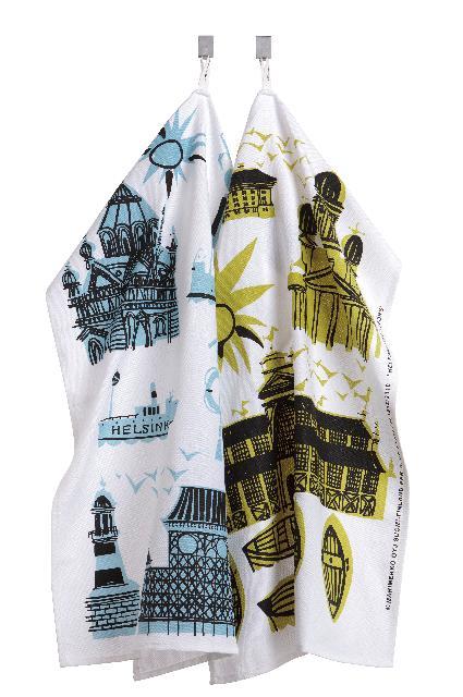 Marimekko Tea towels from the Helsinki Collection