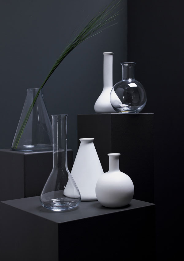Vases from the Terence Conran range at M&S