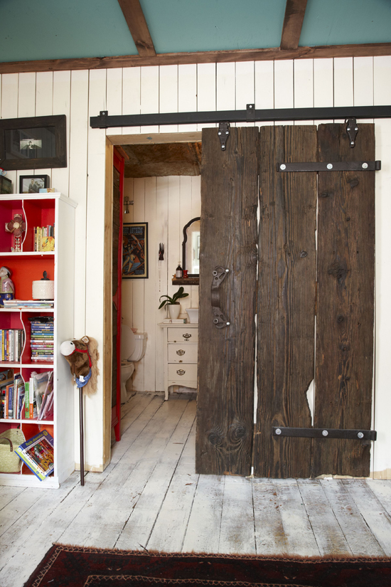 Barn Door for Bathroom
