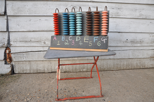 Large Vintage Abacus from Home Barn