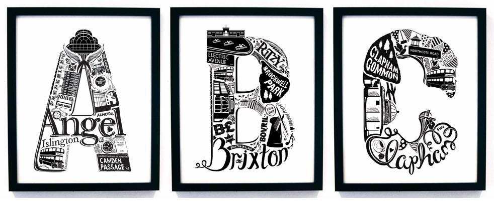 London Letters By Lucylovesthis The Design Sheppard