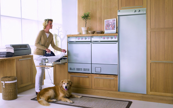 Clothes Drying Cabinet ~ Currently coveting the maytag drying cabinet design
