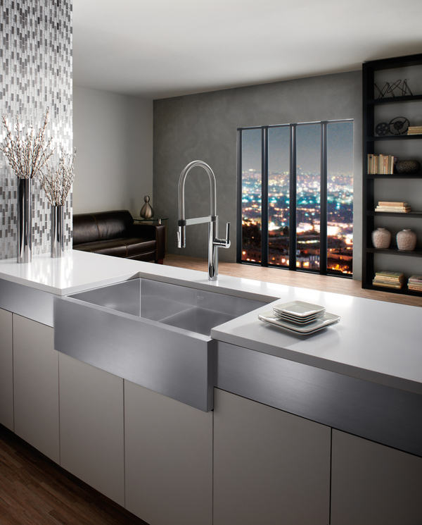Robineterie et sanitaires faucet and plumbing on for Blancoamerica com kitchen sinks