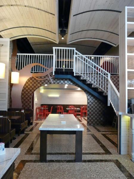 Tryp Hotel NY Breakfast lounge