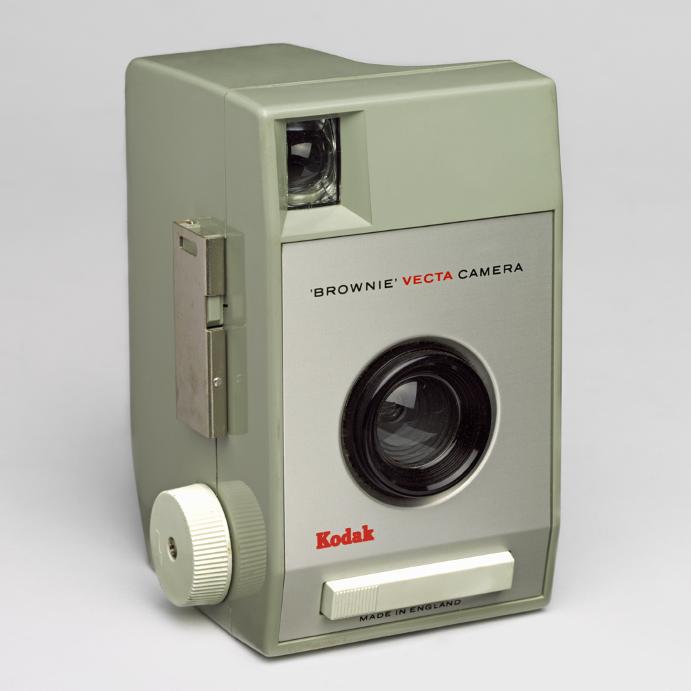 Brownie Vecta camera, by Kenneth Grange for Kodak, 1964.