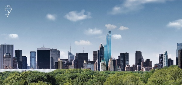 One57 transforming the NYC Skyline