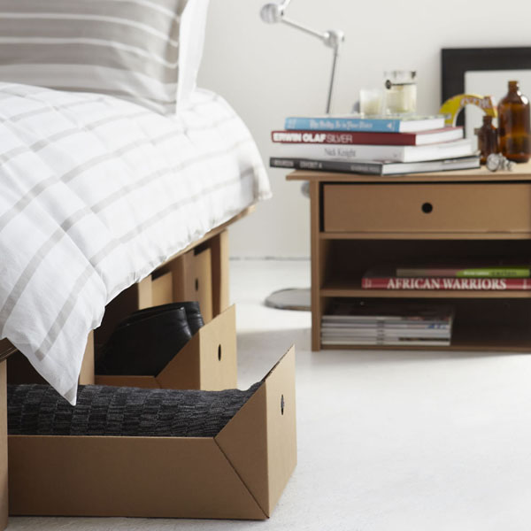 Sustainable Cardboard Furniture By Karton The Design