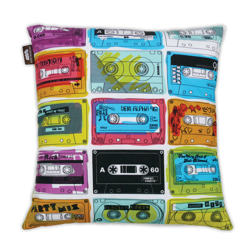 Mini Moderns C-60 Cushion - Multi