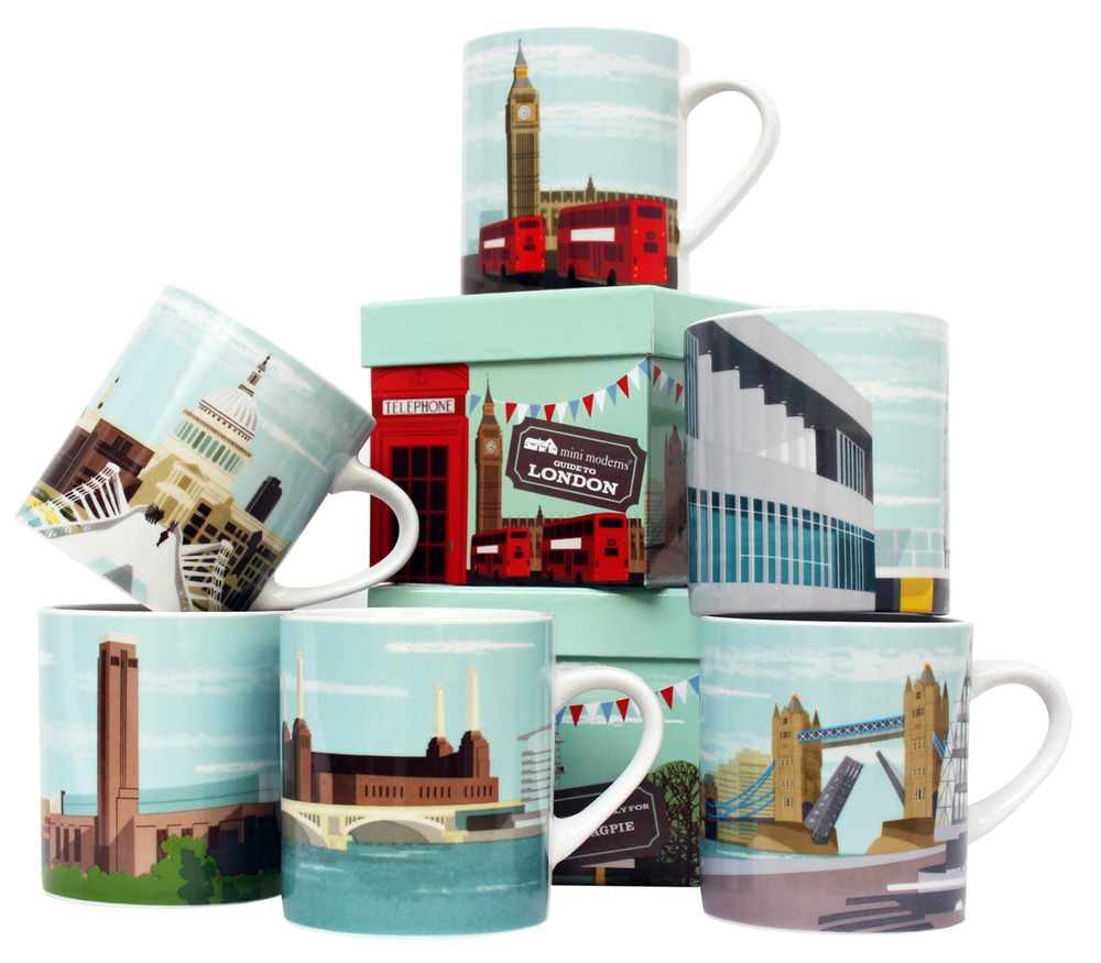 Mini Moderns London Mug Collection