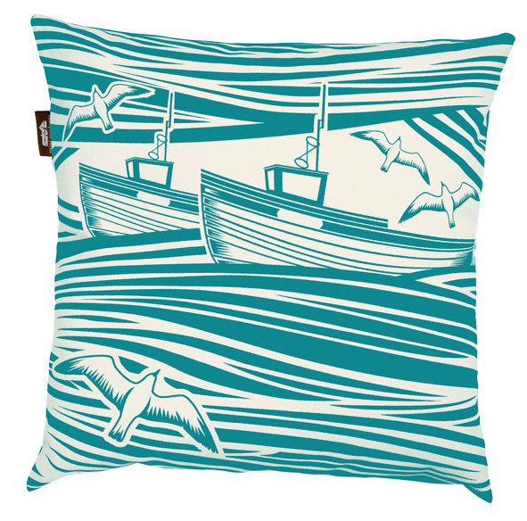 Mini Moderns Whitby Cushion - Lido