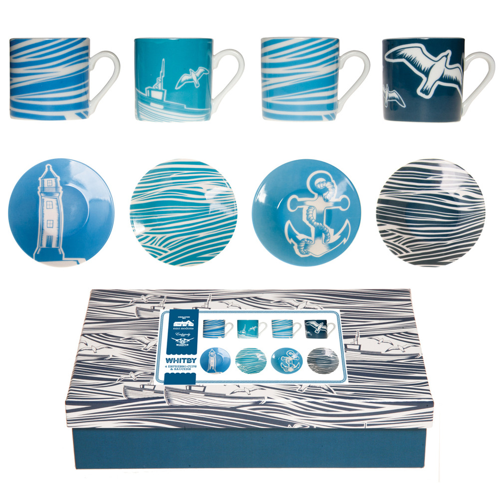 Mini Moderns Whitby Porcelain - Espresso Set