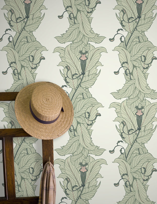 Ms Treat wallpaper in Pineland by Grow House Grow