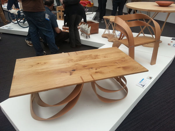 Ark Table & Chair by Henry Williams at New Designers 2012
