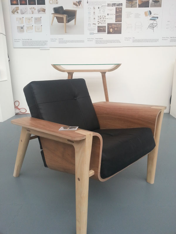 Club Chair by Daniel Edwards at New Designers 2012