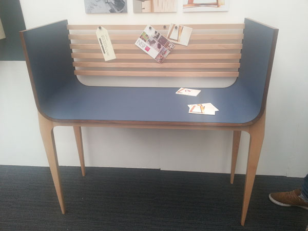 Library Work Station by Josh Snell at New Designers 2012