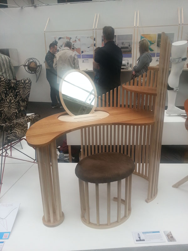 Lily Pad by Rebecca Thomas at New Designers 2012