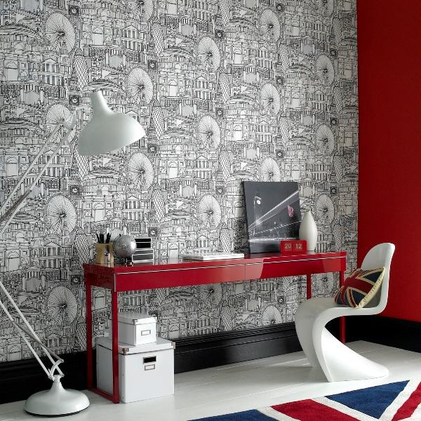 Londinium Wallpaper By Graham Brown