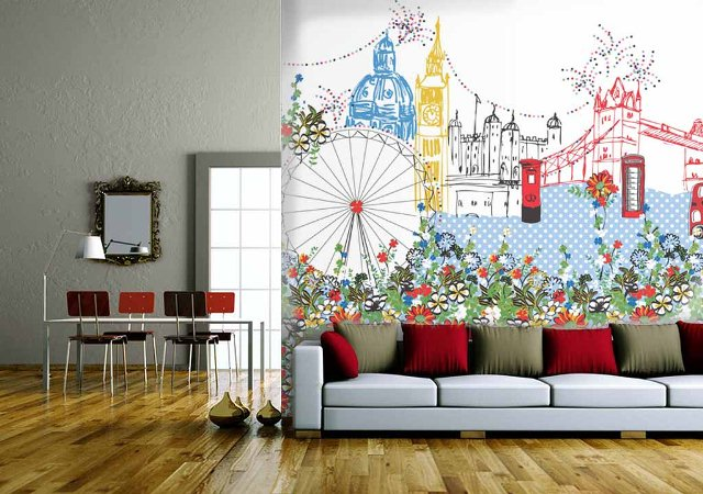 London 2012 by Spellbound By Design on Wallpapered
