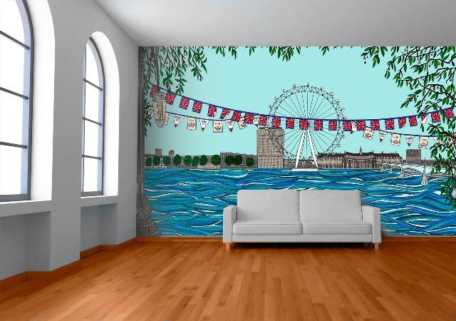 London Jubilee by Daksheeta Pattni on Wallpapered