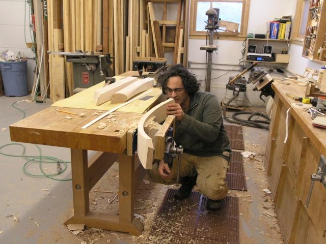 Nico Yektai at work