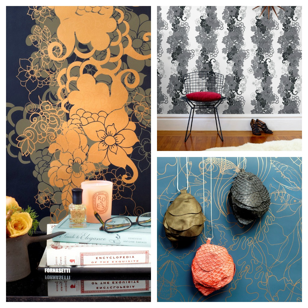 Pattern People Wallpaper from Hygge & West