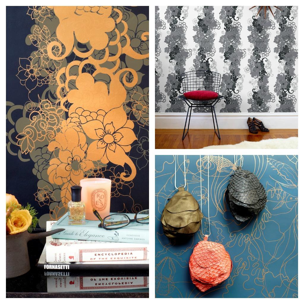 Pattern People Wallpaper from Hygge & West