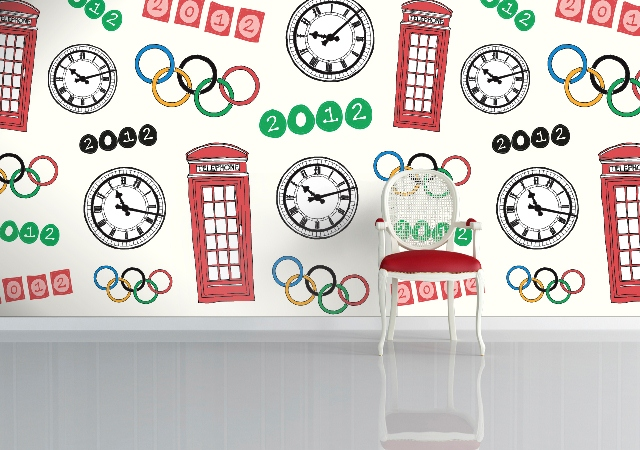 The Olympics by Sian Elin on Wallpapered