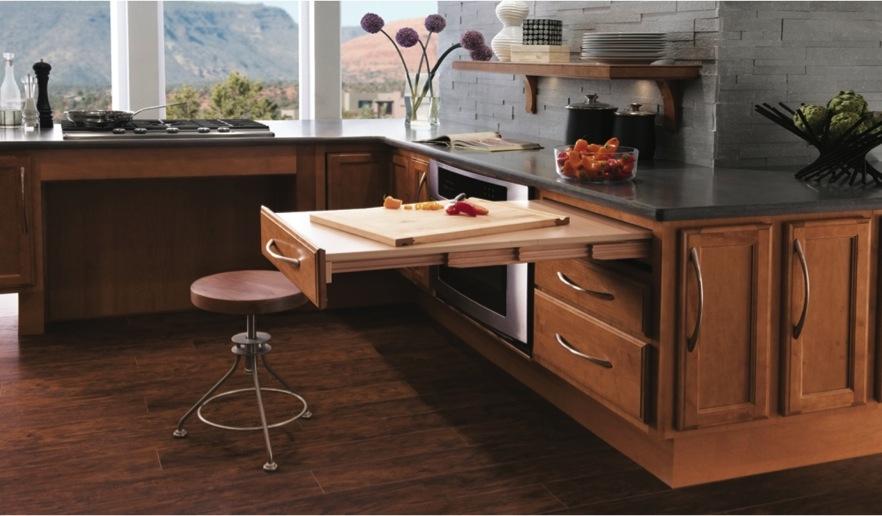 Universal Design Kitchen by Kraftmaid - Cutting Board
