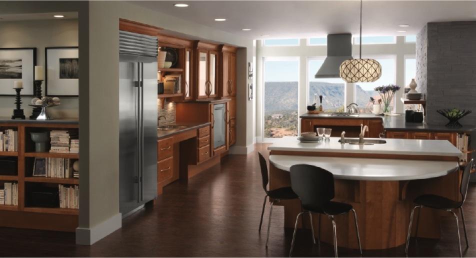Universal Design Kitchen by Kraftmaid