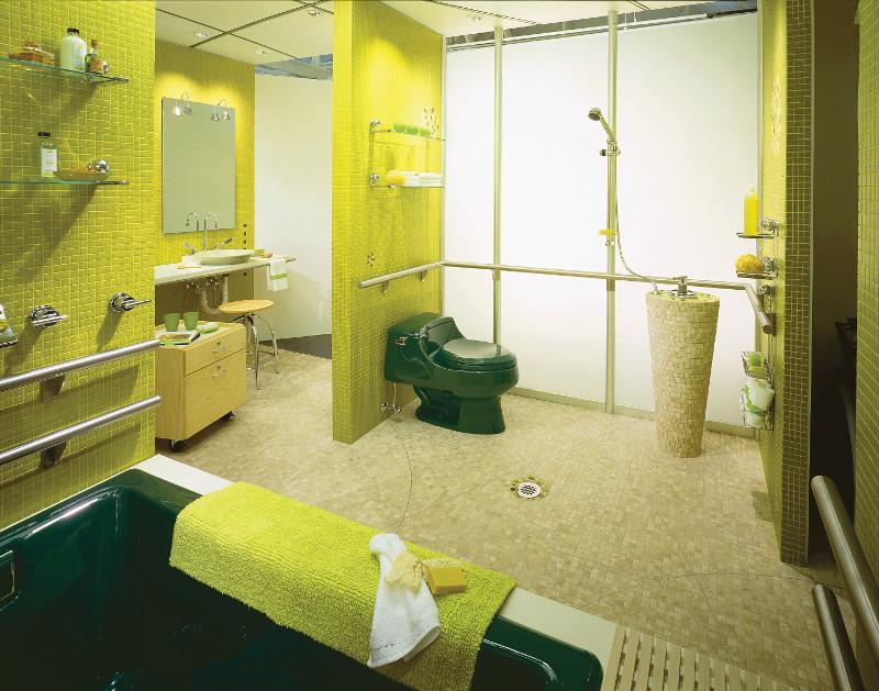 Universal Design Room at Kohler Design Center
