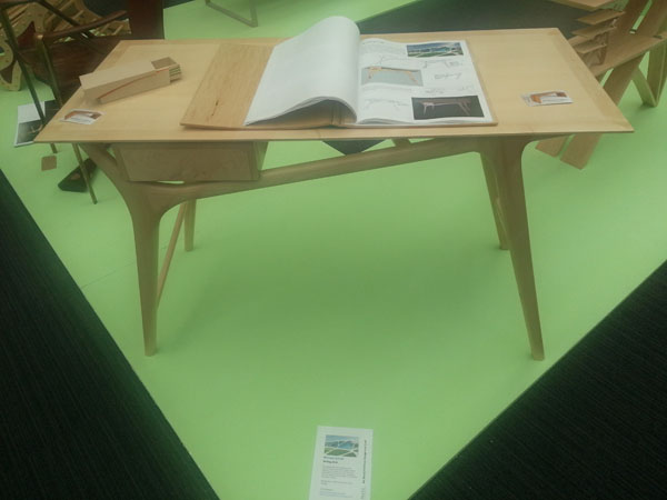 Writing Desk by Michael Sutton at New Designers 2012