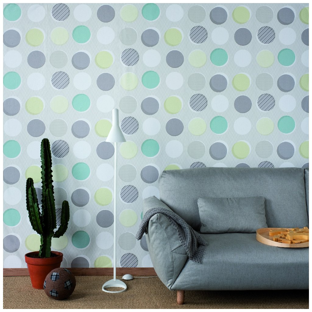 Button wallpaper by Tres Tintas
