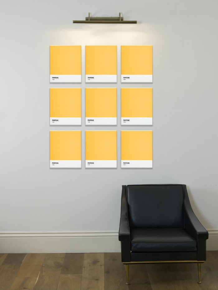 Contemporary Wall Art from Pantone - The Design Sheppard
