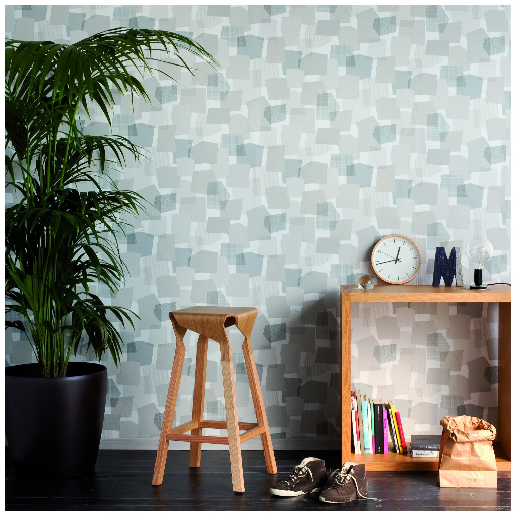 Collage wallpaper by Tres Tintas