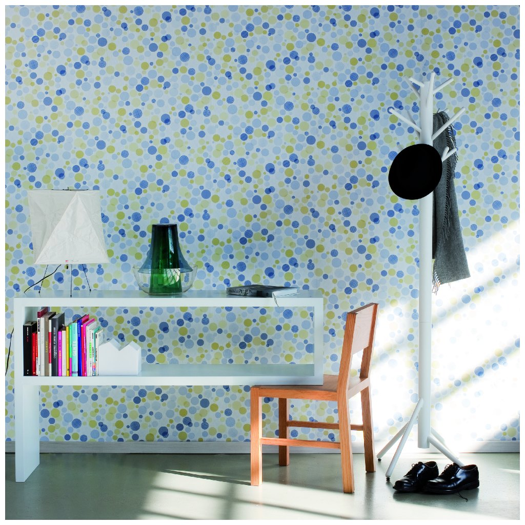 Confetti wallpaper by Tres Tintas