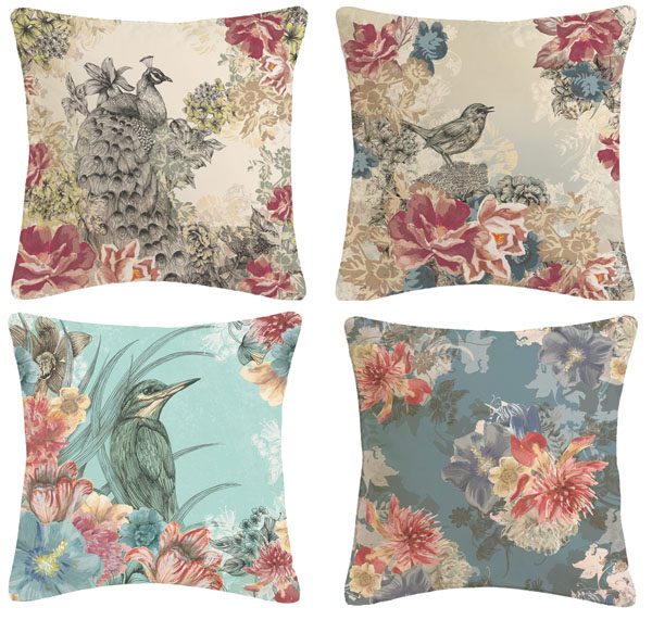 Cushions by Surface Pattern Designer Louise Tiler