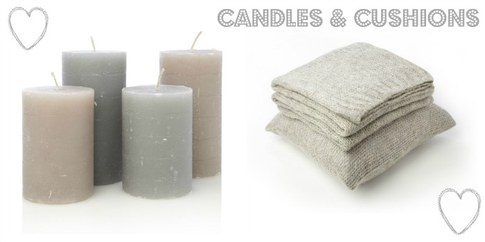 French Connection AW 2012 Candles & Cushions