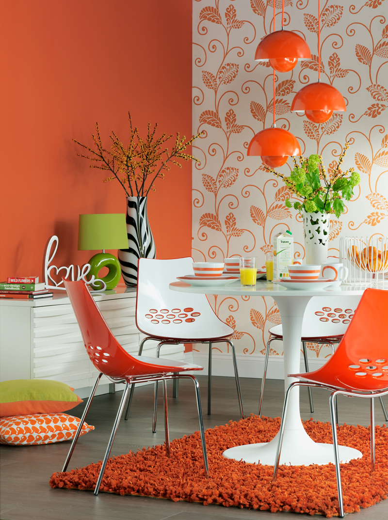 Color For Bedrooms Psychology Colour Psychology Using Orange In Interiors The Design Sheppard