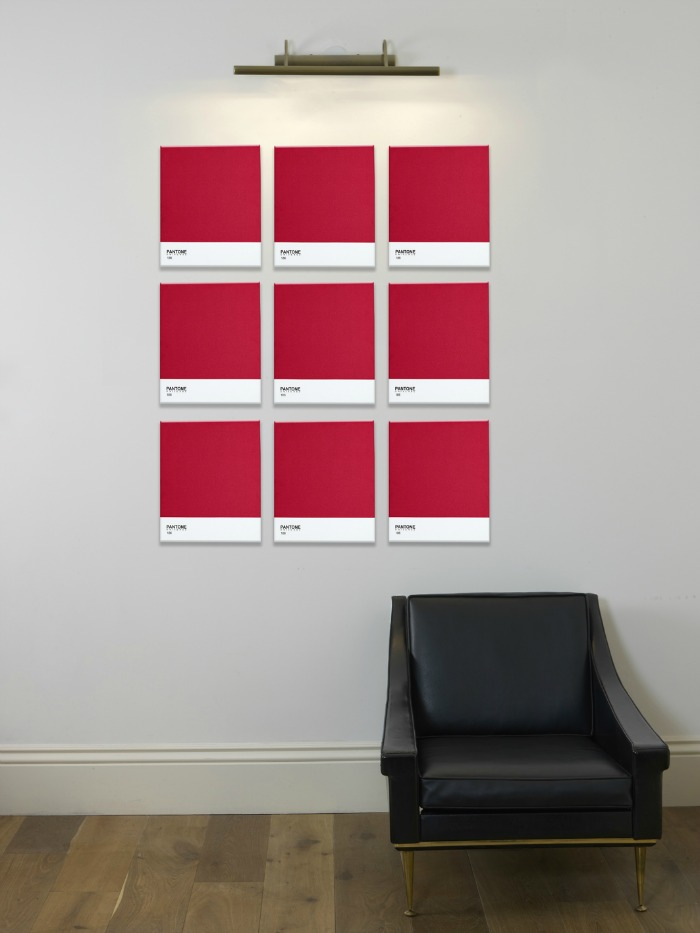 Contemporary Wall Art from Pantone