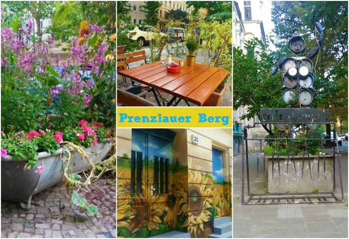 Prenzlauer Berg Distric in Berlin Germany